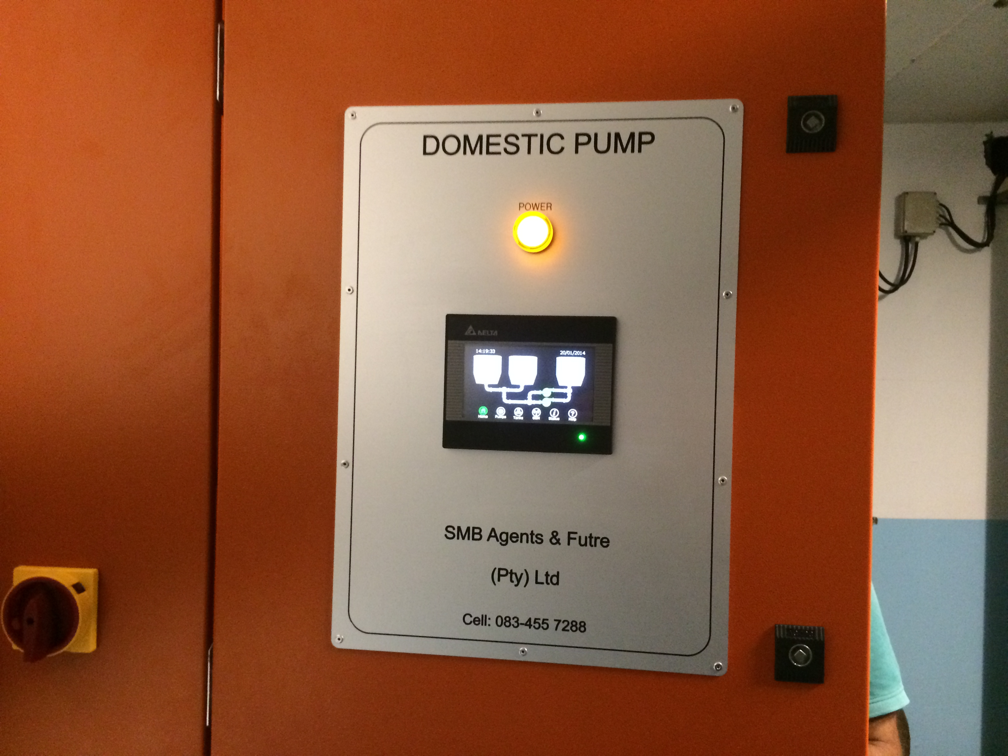 Hotel Domestic Pump Panel
